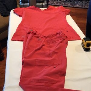 Grey's Anatomy Coral Uniform